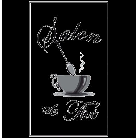 Stickers enseigne salon de thé