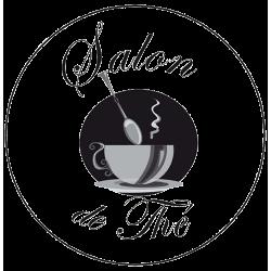 Sticker cuisine - Salon de Thé rond