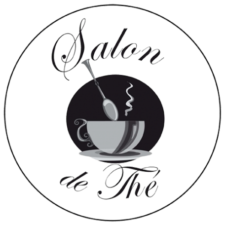 Sticker salon de thé enseigne