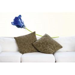 Sticker Fleur - Rose bleue