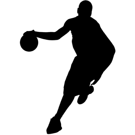 Sticker Basketball - Joueur n 6