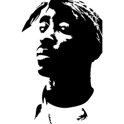 Sticker Tupac
