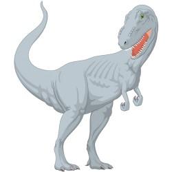 Sticker dinausore Tyranosaure