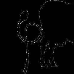 Sticker Cuisine Vache Cuillère