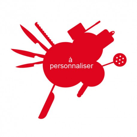 Sticker enseigne cuisine personnalisé