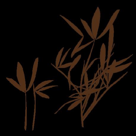 Sticker Bambou naturel