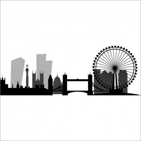 Sticker Londres - D'co Londres