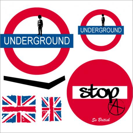 Sticker Underground - Le kit