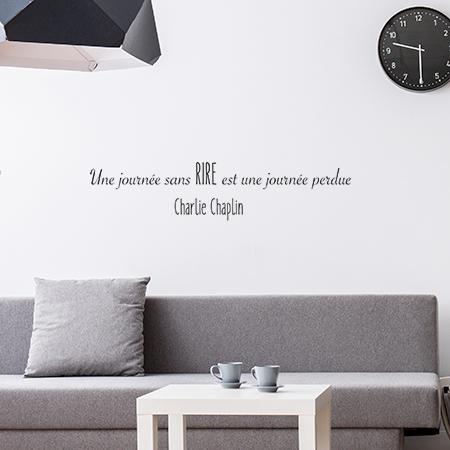 Stickers phrase charlie chaplin