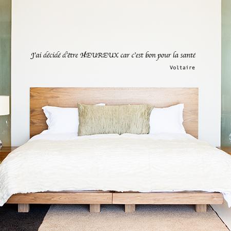 Sticker citation de Voltaire