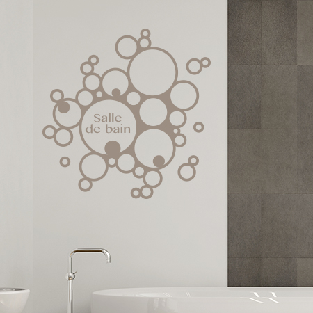 stickers muraux de salle de bain autocollant design salle de bain. Black Bedroom Furniture Sets. Home Design Ideas