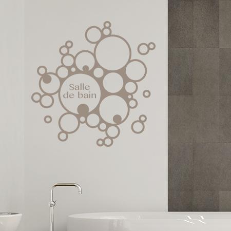 4 x autocollants sticker pour carrelage salle de bains - Autocollant salle de bain ...