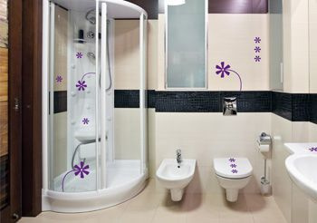 stickers fleurs adh sifs fleurs pour murs et meubles d cor c bo. Black Bedroom Furniture Sets. Home Design Ideas