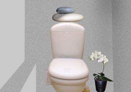 Decoration zen pour wc - Wc deco zen idee ...