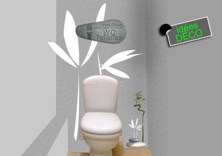Adhésif galet pour toilettes