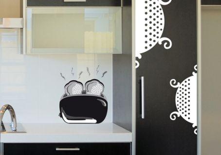 Sticker passette de cuisine d coration graphique et orginale for Passette cuisine
