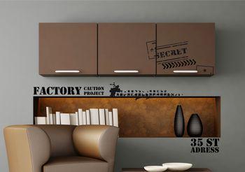 Stickers factory les stickers industrie par d cor c bo - Stickers style industriel ...