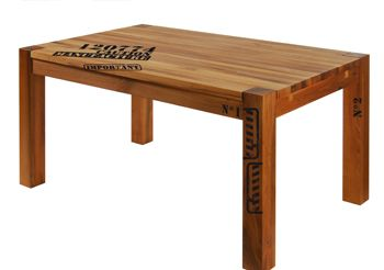 stickers atelier industriel style loft pour tables. Black Bedroom Furniture Sets. Home Design Ideas