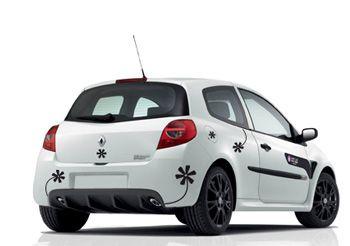 stickers fleurs pour voiture en planches de plusieurs. Black Bedroom Furniture Sets. Home Design Ideas