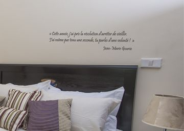 stickers muraux citations chambre free stickers citation chambre meilleur de aerosmith. Black Bedroom Furniture Sets. Home Design Ideas