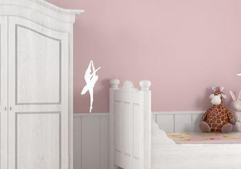 sticker danse classique sticker danseuse. Black Bedroom Furniture Sets. Home Design Ideas