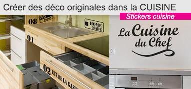 Stickers pour la cuisine
